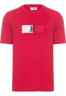 Camiseta Masculina Logo - Vermelho