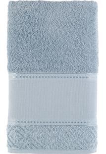Toalha De Banho 100% Algodão 70X140 Provence - Teka - Cinza