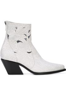 Givenchy Ankle Boot De Couro - Branco