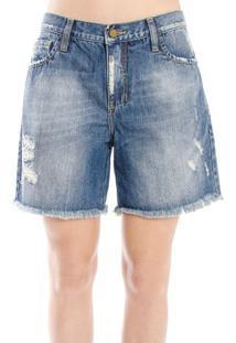 Bermuda Jeans Escritos Cantão