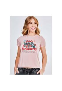 Camiseta Sweet Strawberry