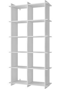Livreiro Encaixe Bx 01 Branco - Brv Móveis