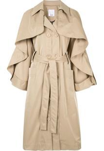 Acler Trench Coat 'Fairfax' - Marrom
