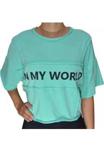 Blusa Arrazantty Feminina - Feminino-Verde