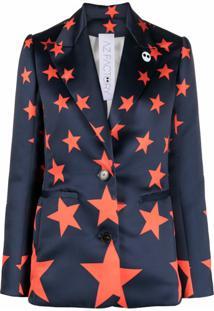Az Factory Blazer De Alfaiataria Switchwear Duchesse - Azul
