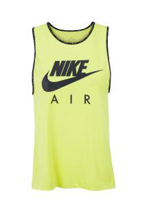 Camiseta Regata Nike Air Tank - Feminina - Amarelo Fluor