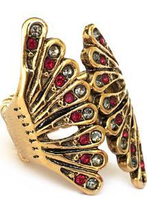 Anel Santa Feminice Nádia Ouro Vintage