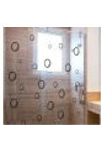 Adesivo Para Box De Banheiro Bolhas De Sabão
