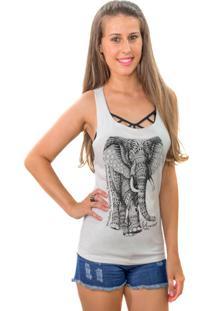 Regata Wevans Nadador Elefante Branco