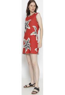 Vestido Dupla Face - Vermelho & Pretoosklen