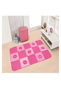 Passadeira Premium Margaridas-Pink 1,20M X 0,74Cm