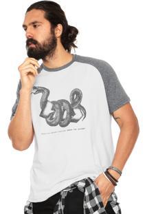 Camiseta Hd Rag Solid Snake Branca