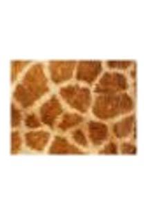 Jogo Americano (Kit 4 Unidades) Nerderia E Lojaria Pele Girafa Colorido