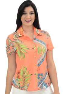 Camisa Energia Fashion Bora Bora Coral