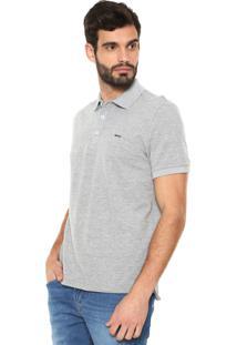 Camisa Polo Sergio K Reta Vista Cinza