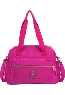 Bolsa It!S Crinkle Com Tag- Pink- 19X27X14Cmswiss Move