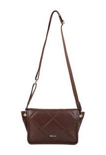 Bolsa Shoulder Bag Matelassê Marrom - Marrom/Un