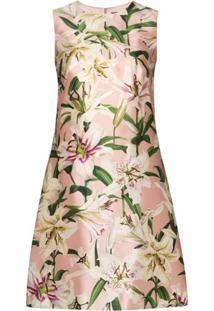 Dolce & Gabbana Vestido Reto - Rosa