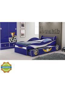 Cama Bibox Enzo Azul Gelius