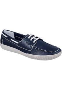 Sapato Masculino Dockside Sandro Moscoloni Victor Azul Marinho