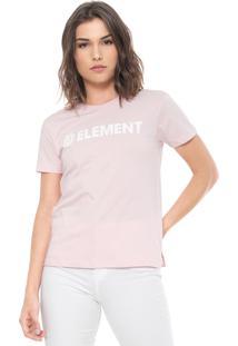 Blusa Element Horizontal Rosa