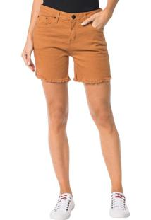 Bermuda Color Calvin Klein Jeans Five Pockets Havana - 42