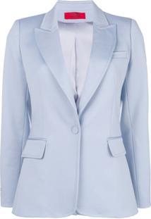 Styland Blazer Com Abotoamento - Azul