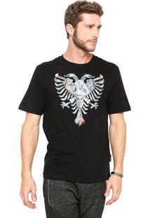 Camiseta Cavalera Origami Preta