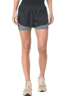 Shorts Athletic Ck Shorts Interno - Preto - Pp