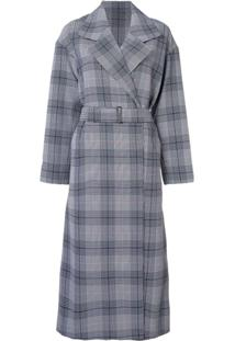 Layeur Trench Coat Xadrez - Estampado