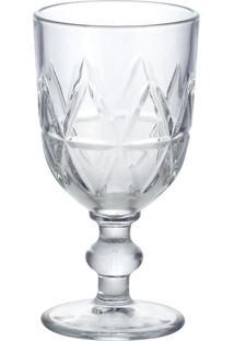 Conjunto De 6 Taças De Vidro Para Água 376Ml Pinho