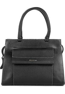 Bolsa Dumond Handbag Relax Feminino - Feminino-Preto