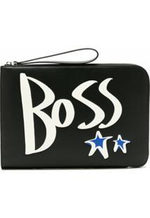 Boss Clutch Boss X Justin Teodoro - Preto