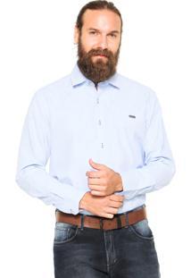 Camisa Mr. Kitsch Reta Azul