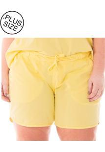 Shorts Esportivo Jogger Color Plus Size - Tricae