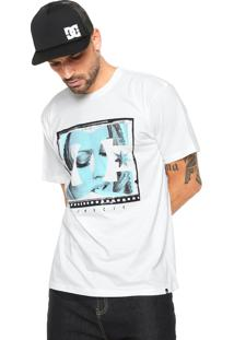 Camiseta Dc Shoes Screener Bege