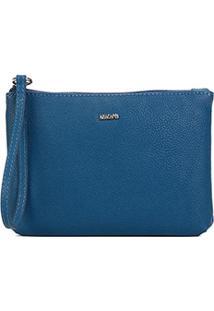 Bolsa Anacapri Clutch Nec Eco Veneza Bag Feminina - Feminino-Azul Claro