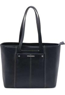 Bolsa De Ombro Wj Shopping Bag Preto