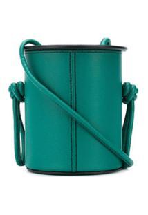 Yuzefi Cubito Cross Body Bag - Verde