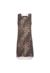 Vestido Circle Estampas - Animal Print