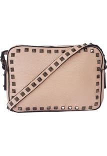 Bolsa Bag Dreams Lara Com Spikes Ros㪠- Rosa - Feminino - Dafiti