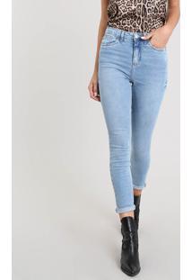 5e690b720 R$ 89,99. CEA Calça Feminina Algodão Elastano Jeans Tom Claro ...