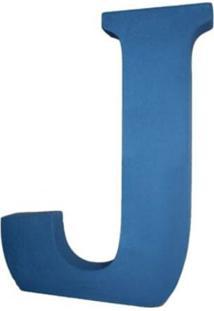 Enfeite Libby´S Letra J Azul