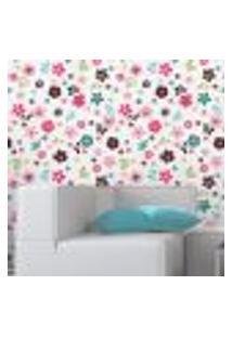 Papel De Parede Autocolante Rolo 0,58 X 5M Floral 93088555