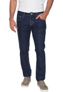 Calça Jeans Fiveblu Slim Básica Azul