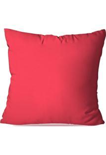 Capa De Almofada Avulsa Rosa Pink 35X35
