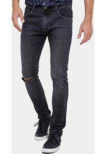 Calça Jeans Skinny Colcci Felipe Índigo Masculina - Masculino