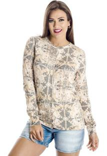 Cardigan Estampado Winthrop P