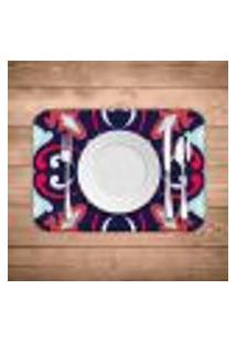Jogo Americano Wevans Mandala Colorful Kit Com 2 Pçs