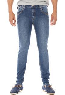Calça Jeans Sawary Confort Skinny Azul